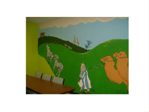 NOAHS ARK CHURCH MURAL