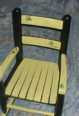 bumble bee rocker hand painted customized
